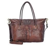 Shopper Tasche 45 cm braun