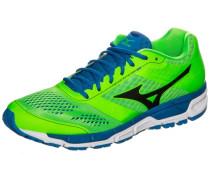 Laufschuh Synchro MX blau / grün