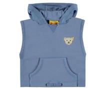 Sweatshirt kurzärmlig blau