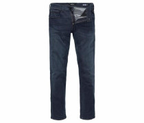 Regular-fit-Jeans 'Grover Hyperflex' dunkelblau