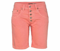 'p88A' Jeansshorts apricot