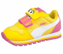 Lauflernschuh »St Runner Big Bird Hoc V Infant« gelb / pink