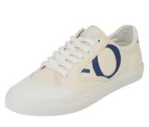 Sneaker im Canvas-Look weiß