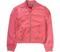 Blouson in Nylon-Optik pink