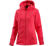 Frozen Morning Fleecejacke Damen rot