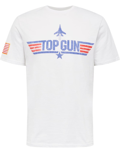 Shirt 'Pittsburg' blau / rot / weiß