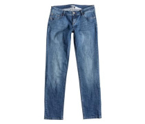 Straight Fit jean »You Breathing« blue denim