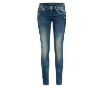 Skinny Jeans 'nikita - blue hiperpower' blue denim