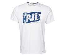 Printshirt 'breeze 2' weiß