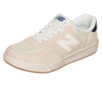 Kt300-Whp-W Sneaker Kinder champagner / dunkelblau / weiß
