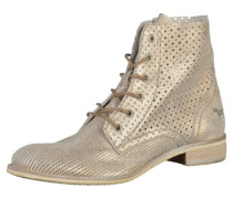 Stiefelette champagner
