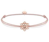 Armband 'Lotosblüte Little Secret' gold / rosé