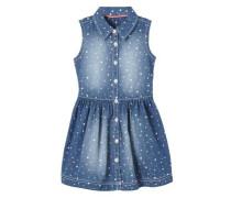 Kleid blue denim / weiß