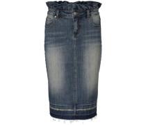Jeansrock im Used-Look blue denim