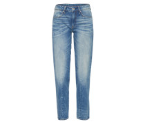 'Lanc 3D High Straight' Loosefit Jeans