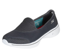 Sneaker 'Go Walk 4 Propel' grau / weiß