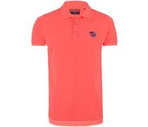 Poloshirt orangerot