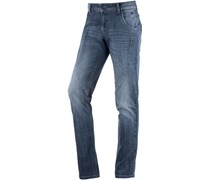 Skinny Fit Jeans Damen blue denim