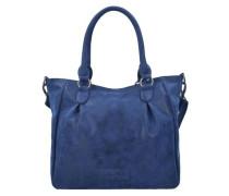 Schultertasche 'Amanda Vintage' blau