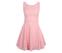 Skaterkleid aus Spitze pink