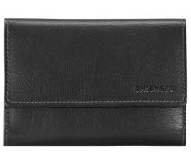 Vermentino Geldbörse Leder 147 cm schwarz