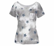 T-Shirt 'Fire' grau