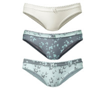 Slip (3 Stck.) blau / grau / weiß
