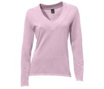 V-Pullover rosé