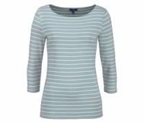 Streifenshirt hellblau / weiß