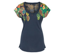 T-Shirt 'circe' blau / mischfarben