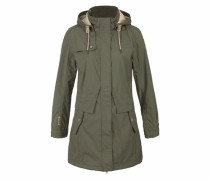 Softshellparka 'hafida' khaki