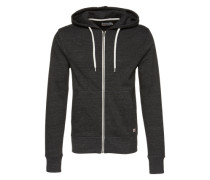 Sweatshirtjacke 'jorstorm Sweat ZIP Hood B' anthrazit