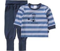 Baby Schlafanzug dunkelblau