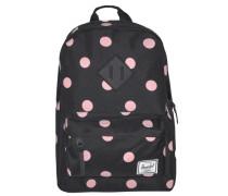 Heritage Kids Backpack Rucksack 33 cm rosa / schwarz