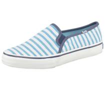 Double Decker Cabana Stripe Sneaker blau