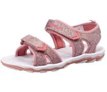 Sandale 'glitter' rosa