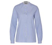 Bluse im Fischerhemd-Stil blau / weiß