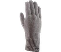 Milton Fingerhandschuhe grau