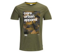 T-Shirt Grafik grün