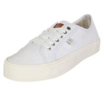 Canvas Sneaker weiß