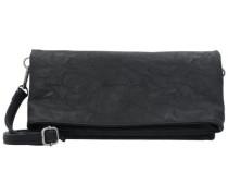 Ronja Clas Saddle 17 Clutch Tasche 29 cm schwarz