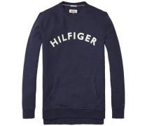 Sweatshirt 'thdm Branded CN Hknit L/S 26' dunkelblau