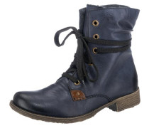 Stiefelette blue denim