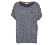 Shirt 'Detroit House VI' marine / weiß