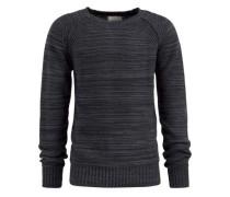 Pullover 'percy' anthrazit / schwarzmeliert