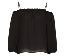 Off Shoulder Top schwarz