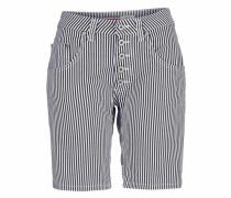 Jeans Shorts 'p88A' marine / weiß
