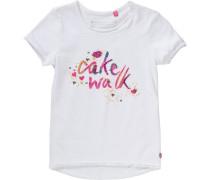 T-Shirt KOI für Mädchen blau / gelb / pink / weiß