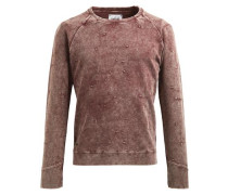 Pullover 'woom' rostrot