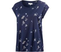 T-Shirt 'Amorie' navy / hellblau / rosa